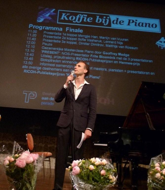 koffie bij de piano